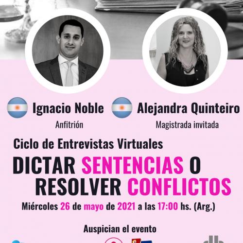 ¿Dictar sentencias o resolver conflictos? con Alejandra Quinteiro